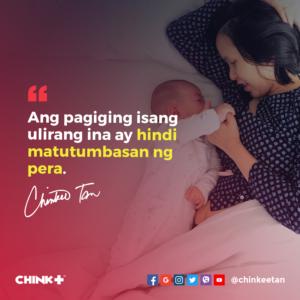 """Ang pagiging isang ulirang ina ay hindi matutumbasan ng pera."""""""